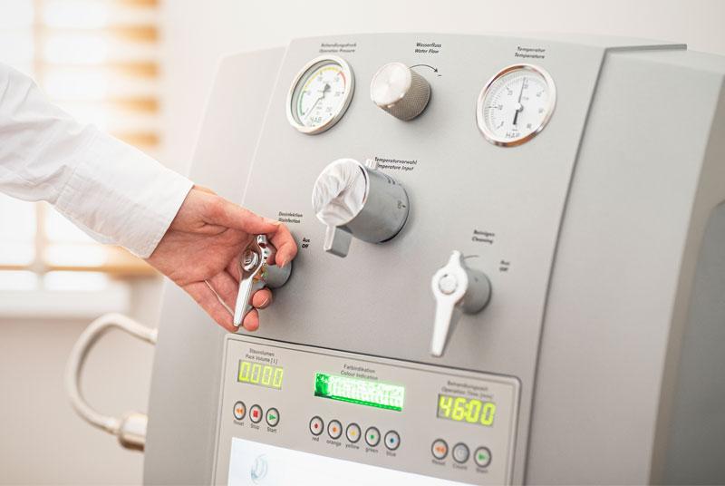 Unterstützung beim Heilfasten Fasten Fastenkuren durch effektive Darmreinigung mit Hydro-Therapie in Krefeld durch Darmschön