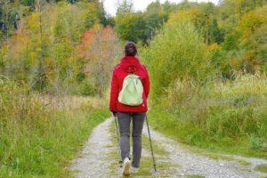 Nordic Walking in der Natur